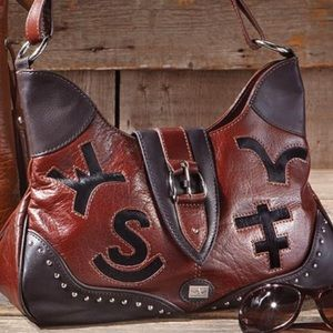 Western Trenditions leather purse 👜